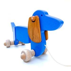 hund dachshund treleke leker barn norskeleker