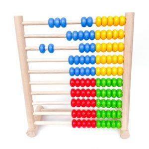 Norskeleker.no treleke leke barn abacus kuleramme