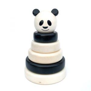 Stable panda treleke leke tre norskeleker barn