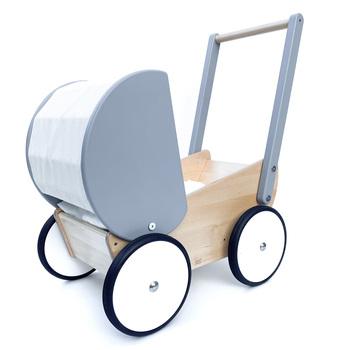 Dukkevogn norskeleker.no Treleker Leker miljøvennlige barn tre
