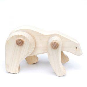 Treleker Miljøvennlige Norskeleker.no leker Isbjørn barn