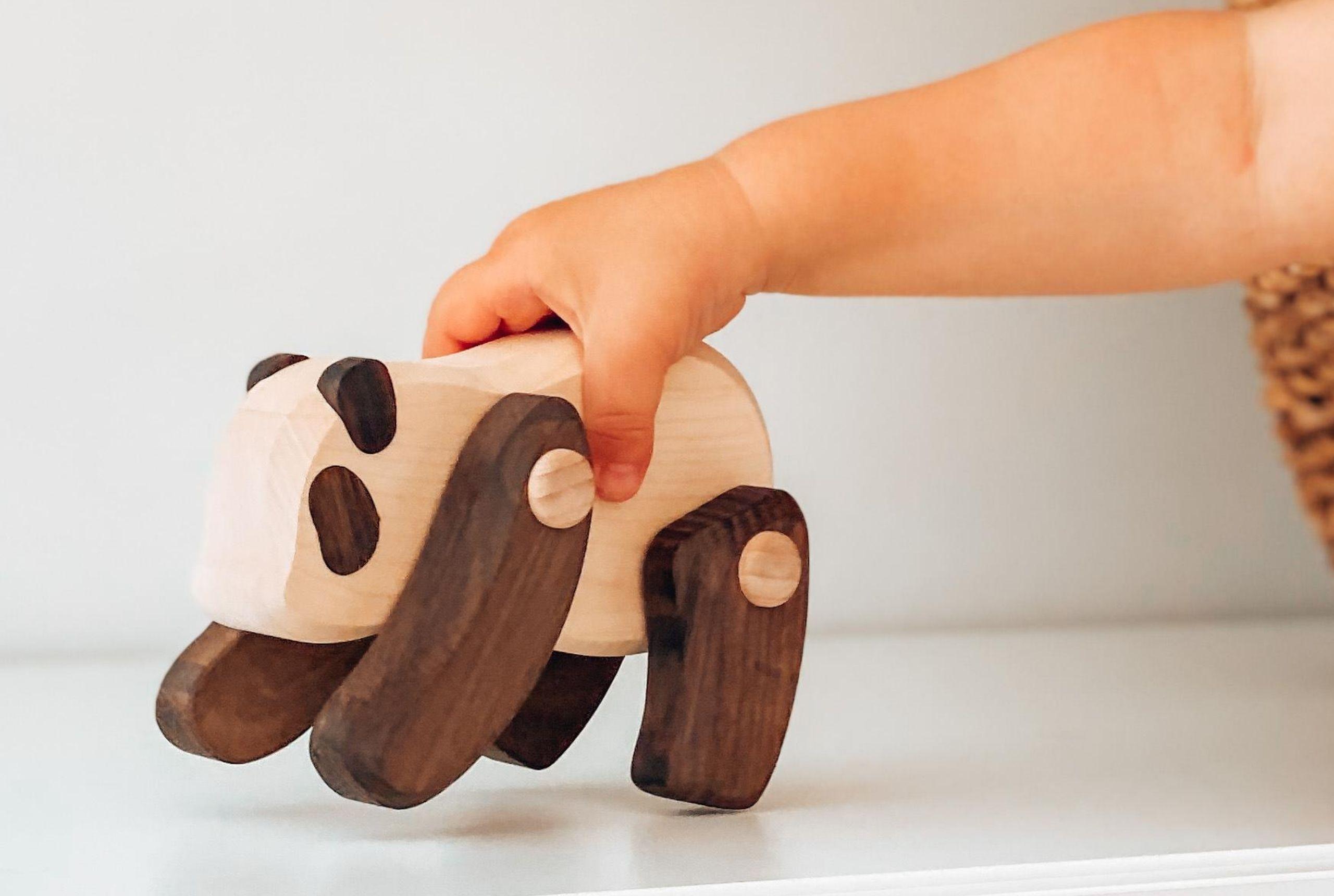 leker treleker miljøvennlige norskeleker.no panda