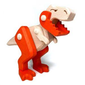 Treleker Miljøvennlige Norskeleker.no leker dinosaur T-rex Tyrannosaurus barn tre