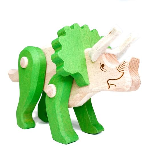 Treleker Miljøvennlige Norskeleker.no leker dinosaur Triceratops barn treker Miljøvennlige Norskeleker.no leker dinosaur stegosaurus barn tre
