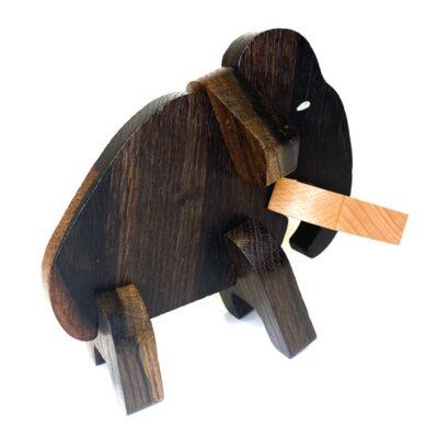 Norskeleker.no paleo treleker leke mammut puslespill