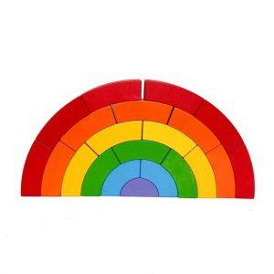 Norskeleker.no eventyr treleker leke regnbue bajo